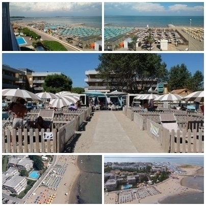 "PRIVAT STRAND ""DOGGY BEACH"" VORNE RES.MARE - agentur ATLANTIDE in Lignano"